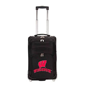 "Denco Sports Luggage University of Wisconsin 21"" Ballistic Nylon Carry-on"