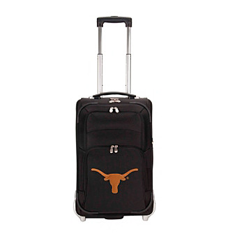 "Denco Sports Luggage University of Texas 21"" Ballistic Nylon Carry-on"