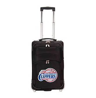 "Denco Sports Luggage Los Angeles Clippers 21"" Ballistic Nylon Carry-on"