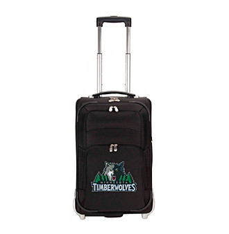 "Denco Sports Luggage Minnesota Timberwolves 21"" Ballistic Nylon Carry-on"