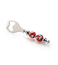 Vintage Royal® Red Double Ball Bottle Opener