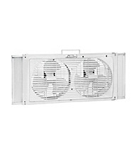 Comfort Zone™ Portable Twin Window Fan