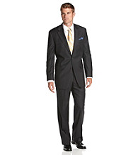 Lauren® Men's Charcoal Stripe Suit