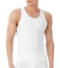 Calvin Klein Men's White Compression Tank