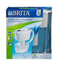 Brita® Space Saver Water Filtration Pitcher