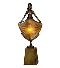 Dale Tiffany Dancing Lady Accent Lamp