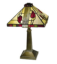 Dale Tiffany Henderson Inline Table Lamp