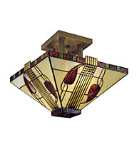 Dale Tiffany Henderson Semi Flush Mount Light