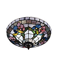Dale Tiffany Hollyhock Semi-Flush Mount Light