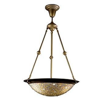 Dale Tiffany Mosaic Jewel Hanging Light Fixture