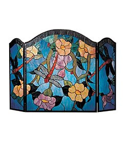 Dale Tiffany Dragonfly Fireplace Screen