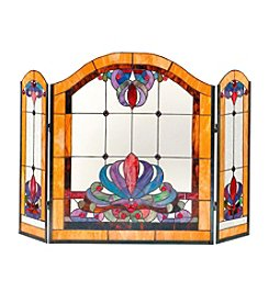 Dale Tiffany Anemone Fireplace Screen