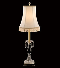 Dale Tiffany Crystal Shingle Shade Accent Lamp