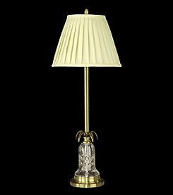 Dale Tiffany Gold Accent Crystal Buffet Lamp