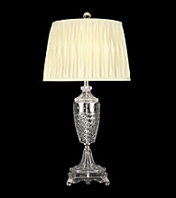 Dale Tiffany Windowpane Base Crystal Table Lamp