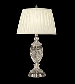 Dale Tiffany Crystal Glass Metal Table Lamp