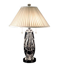 Dale Tiffany Black Shield Table Lamp