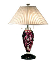 Dale Tiffany Haskell Crystal Lamp