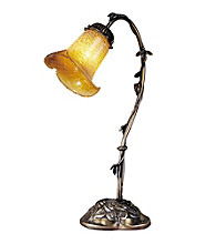 Dale Tiffany Favrile Lilypad Accent Lamp