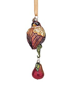 Reed & Barton® Partridge with Pear Ornament