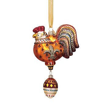 Reed & Barton® Three French Hens Ornament