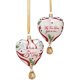 Reed & Barton® Five Golden Rings Ornament