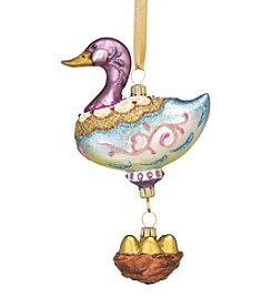 Reed & Barton® Six Geese A-Laying Ornament