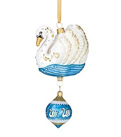 Reed & Barton® Seven Swans A-Swimming Ornament