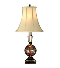 Dale Tiffany Mosaic Art Glass Accent Lamp