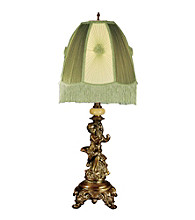 Dale Tiffany Cupid/Celadon Table Lamp