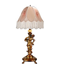 Dale Tiffany Lady/Pink Table Lamp