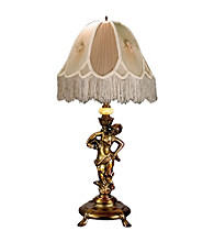 Dale Tiffany Lady/Beige Table Lamp