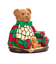 Dale Tiffany Noel Bear Night Light Lamp