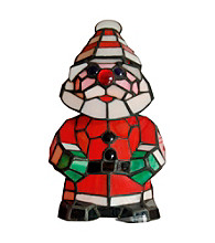 Dale Tiffany Happy Santa Accent Lamp