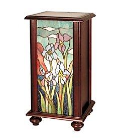 Dale Tiffany Iris Tiffany Pedestal