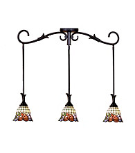 Dale Tiffany Burbridge 3 Light Mini Pendant