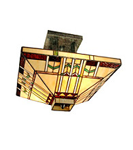 Dale Tiffany San Carlos Semi Flush Mount