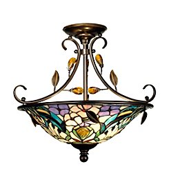 Dale Tiffany Crystal Peony Inverted Fixture
