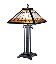 Dale Tiffany Oakdale Mission Table Lamp