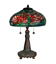 Dale Tiffany Peony Replica Table Lamp