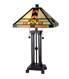Dale Tiffany Arrow Mission Table Lamp
