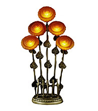 Dale Tiffany 5-Light Sunflower Table Lamp