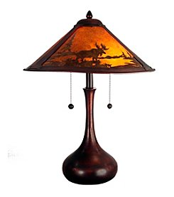 Dale Tiffany Wilderness Table Lamp