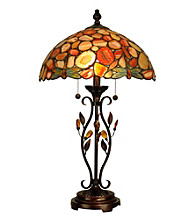 Dale Tiffany Dragonfly Agate Table Lamp