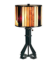 Dale Tiffany Geometric Table Lamp
