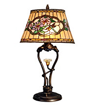 Dale Tiffany Star Flower Table Lamp With LED