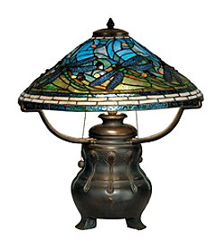 Dale Tiffany Dragonfly Replica Table Lamp