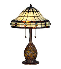 Dale Tiffany Turtleback Replica Table Lamp