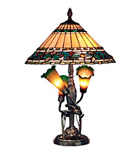 Dale Tiffany Triple Lily Tiffany Table Lamp
