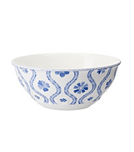 Villeroy & Boch® Farmhouse Touch Blue Flowers Large Vegetable Bowl